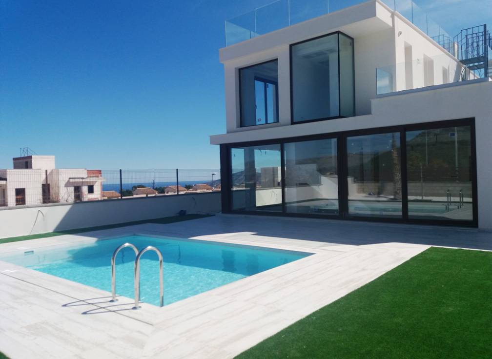 For sale - Detached Villa - Polop & La Nucia - Polop