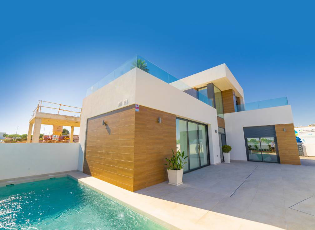 New Build 3 Bedroom Detached Villas With Private Pool With Countercurrent Swimming Included