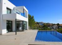 New Build Luxury Detached 3 Bed Villa With Pool, Underbuild & Stunning Sea Views