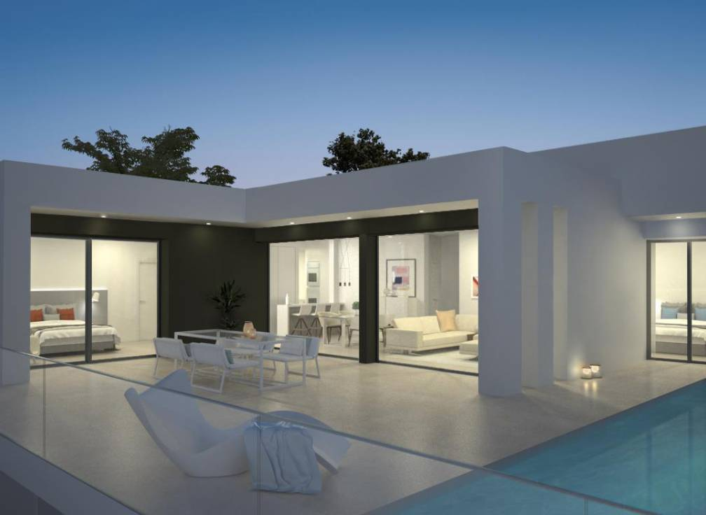 New Build Luxury Detached 3 Bed Villa With Private Pool, Basement & Stunning Sea Views