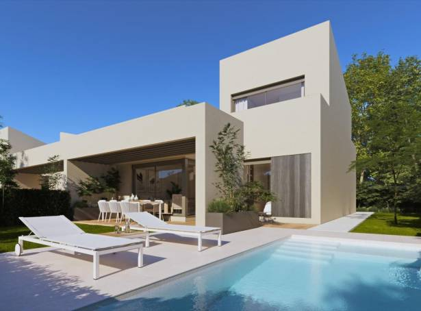 Semi-Detached Villa - For sale - Fuente Alamo - Hacienda Del Alamo Golf Resort